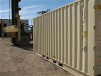 other side of the FULL foldout door container